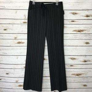 The Limited Cassidy Pinstripe Career Pants Size 4